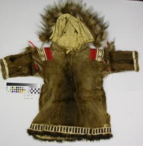 Yup'ik Child's Parka, Alaska State Museum Collection