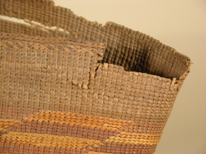 Rim of spruce root basket 2006-18-1 BT by Samantha Springer