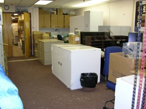 Conservation Lab BEFORE