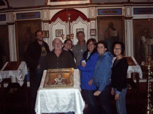 L to R Brian Scott, Dave Harvey, Dana Senge, Carmen Bria, Catalina Hernandez, Anne Gunnison, and Yoonji Lee