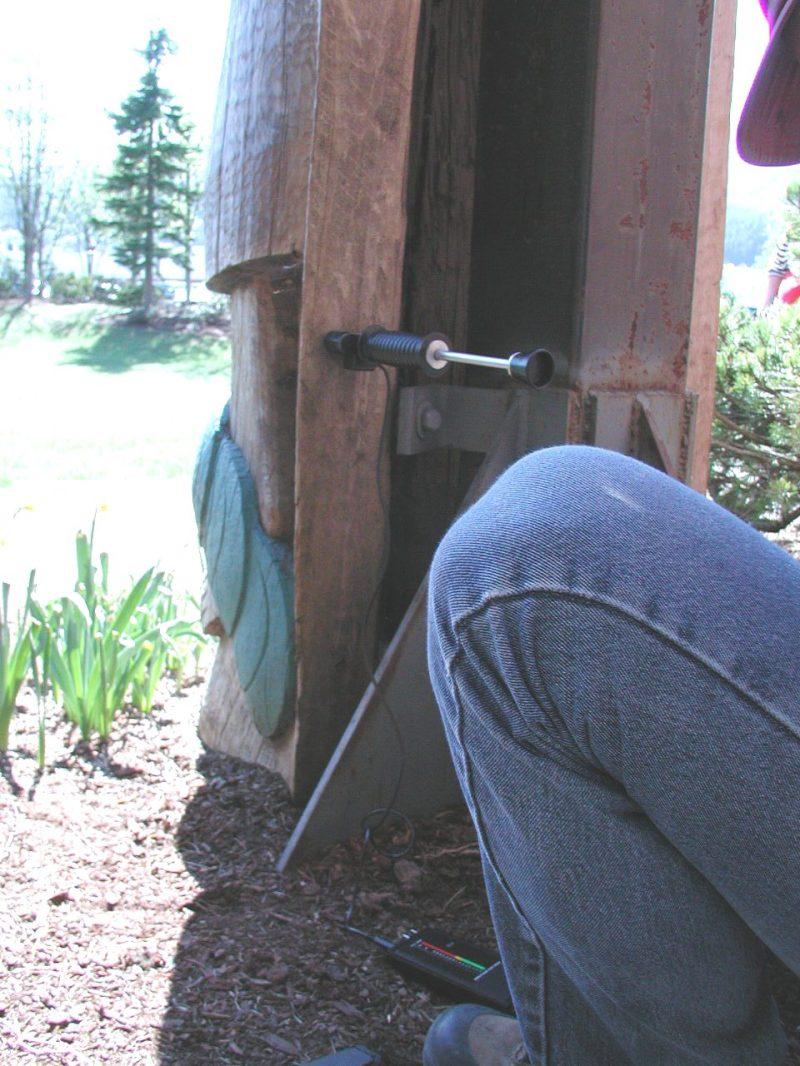 wood moisture gauge