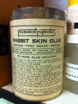 old rabbit skin glue
