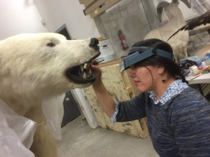 Gwen Manthey takes on the polar bear tongue